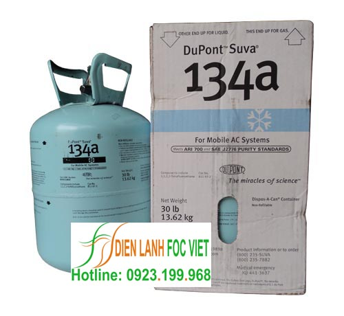 Gas R134A Dupont