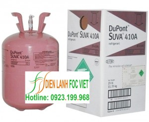 Gas lạnh Dupont Suva R410A