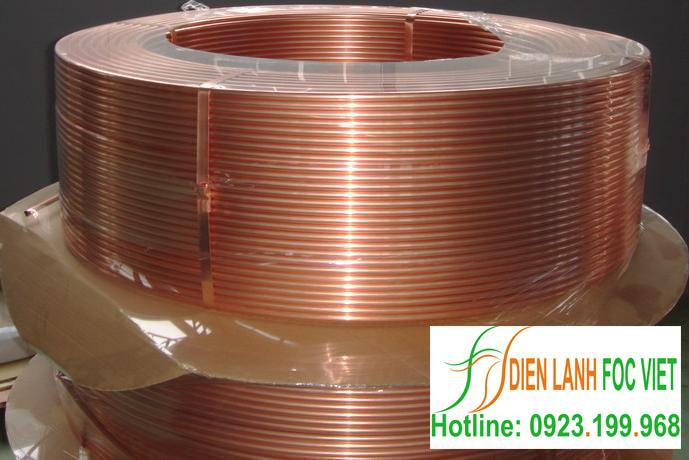 Ống đồng Rubby Copper dạng LWC