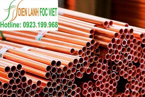 ống đồng ruby Copper dạng cây
