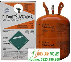 Gas lạnh Dupont Suva R404A